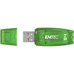 Clé USB EMTEC C410 64 Go Vert