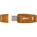 Clé USB EMTEC C410 128 Go Orange