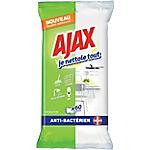 Lingettes nettoyantes désinfectantes Ajax   60 Unités