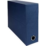 Boîtes transfert Exacompta 34 x 9 x 25,5 cm Bleu