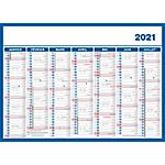 Calendrier Économique 2020 19 x 26,5 cm
