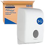 Distributeur d'essuie mains AQUARIUS 6945 26,5 x 14 x 39,9 cm Blanc