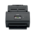 Scanner de documents Brother ADS 2800W Noir