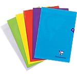 Cahier grands carreaux piqué Polypro Clairefontaine Mimesys A4 Coloris aléatoire 48 Pages   24 Feuilles