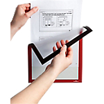 Cadre d'affichage magnétique DURABLE Duraframe A4 Rouge 5 Unités
