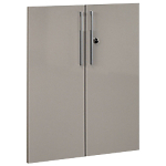 Lot de 2 portes Gautier Office Vermont Taupe 800 x 1 010 mm