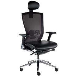 Royaume-Uni disponibilité f87d1 9e428 Siege de bureau ergonomique Mecanisme synchrone X chair Noir ...