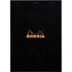 Bloc notes Rhodia Rhodia Noir 80 Feuilles