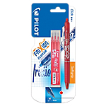 Stylo + 3 recharges   Pilot   Frixion Clicker   Pointe moyenne   Rouge