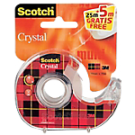 Ruban adhésif   Scotch   Crystal   Transparent   25 m + 5 m