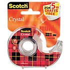Ruban adhésif   Scotch   Crystal   Transparent   25 m + 5 m