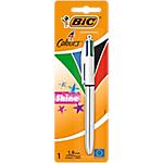 Stylo à bille 4 couleurs   Bic   Shine