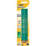 Blister de 10 crayons à papier   Bic   Evolution HB