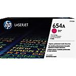 Toner HP D'origine 654A Magenta CF333A