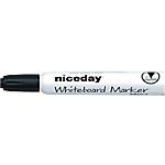 Marqueurs pour tableau blanc Niceday WBM2.5 À Pointe   12 Unités
