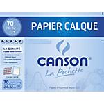 Papier calque Canson Transparent   12 Feuilles