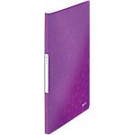 Album de présentation Leitz WOW Polypropylène 20 Pochettes A4 Violet