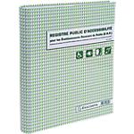 Registre public d'accessibilité ERP Exacompta A4 110 g