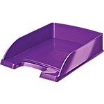 Corbeille à courrier Leitz WOW Violet