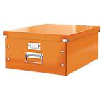 Boîte de rangement Leitz Click & Store Orange