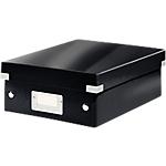 Boîte à compartiments Leitz Click & Store Noir