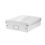 Boîte à compartiments Leitz Click & Store Blanc