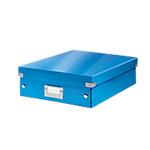 Boîte à compartiments Leitz Click & Store Bleu