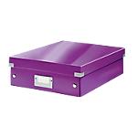 Boîte à compartiments Leitz Click & Store Violet