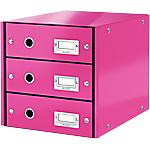 Module de classement Leitz WOW Click&Store 28,6 x 35,8 x 28,2 cm Rose
