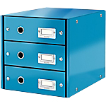 Module de classement Leitz WOW Click&Store 28,6 x 35,8 x 28,2 cm Bleu