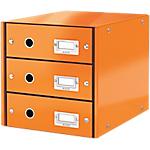 Module de classement Leitz WOW Click&Store 28,6 x 35,8 x 28,2 cm Orange