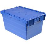 Bac navette Polypropylène 54 L Viso 40 (l) x 60 (l) x 30,5 (H) cm Bleu