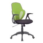 Chaise de bureau Realspace Austin Filet, Tissu Multi couleur