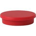 Aimants pour tableau blanc Niceday 30 mm Rouge 3 x 3 cm   10 Unités