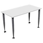 Table mobile office depot aeris dim l.120xp.60x h.72 cm blanc