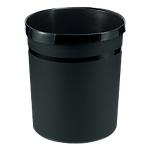 Corbeille à papier HAN GRIP Noir 31,2 x 31,2 x 35 cm