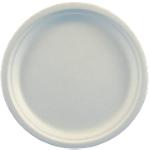 Assiettes Canne à sucre PAPSTAR Pure Blanc   50 Unités