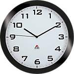 Horloge murale Alba Horissimo 38 x 5,5 cm Noir