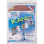Pochettes d'affichage adhésives repositionnables Tarifold Kang Easy Clip A3   2 Unités