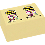 Notes repositionnables Post it Super Sticky 48 (H)  x  76 (l) mm 70 g