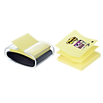 Dévidoir pour notes repositionnables Post it Super sticky Z Notes 76 (H)  x  76 (l) mm 70 g