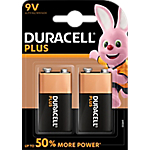 Piles Duracell Plus Power 9V