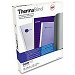 Couvertures à reliure thermique GBC A4   Blanc   25 Unités