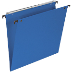 Dossiers suspendus pour tiroir Office Depot fond V bleu   25