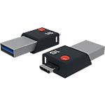 Clé USB OTG EMTEC T200 Mobile & Go 16 Go Noir