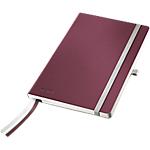 Cahier Leitz A5 Style Papier Rouge grenat   80 Feuilles