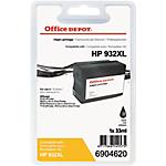 Cartouche jet d'encre Office Depot Compatible HP 932XL Noir CN053E