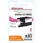 Cartouche jet d'encre Office Depot Compatible Brother LC1280XLM Magenta