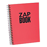 Cahier reliure intégrale Clairefontaine Zap Book 80 g