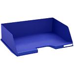 Corbeille à courrier Exacompta Classic 112104D Bleu